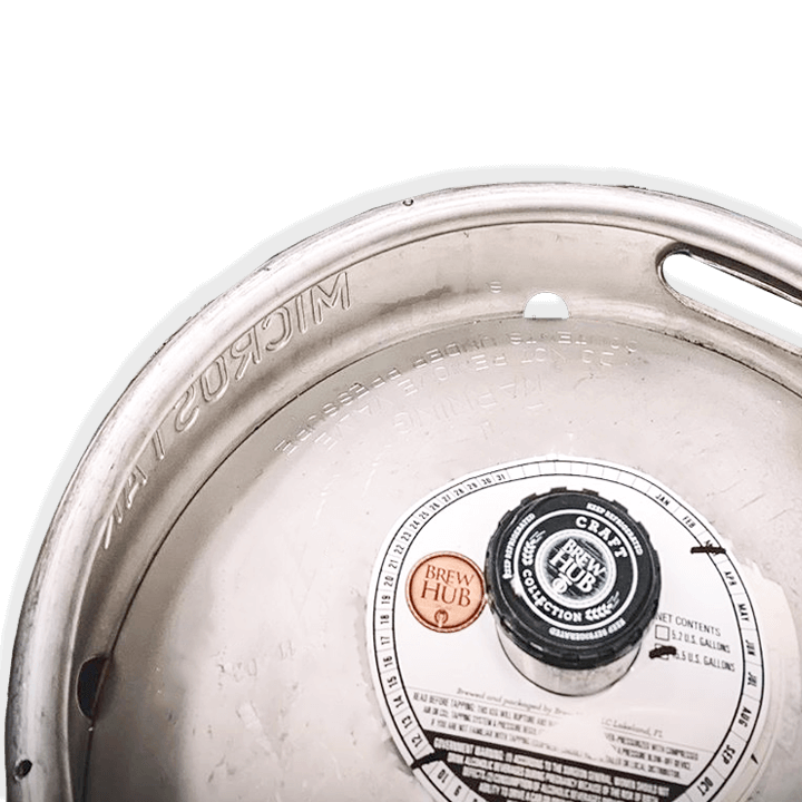 keg collar labels