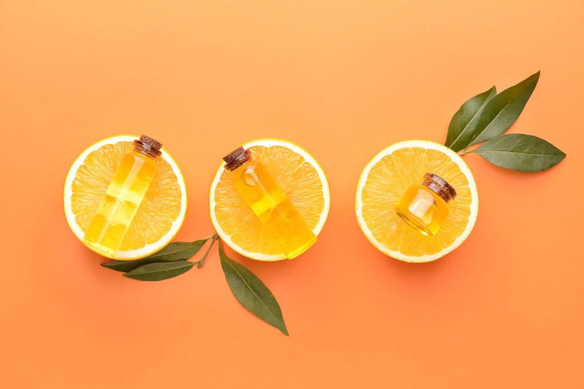 Orange Oil for Label Removal