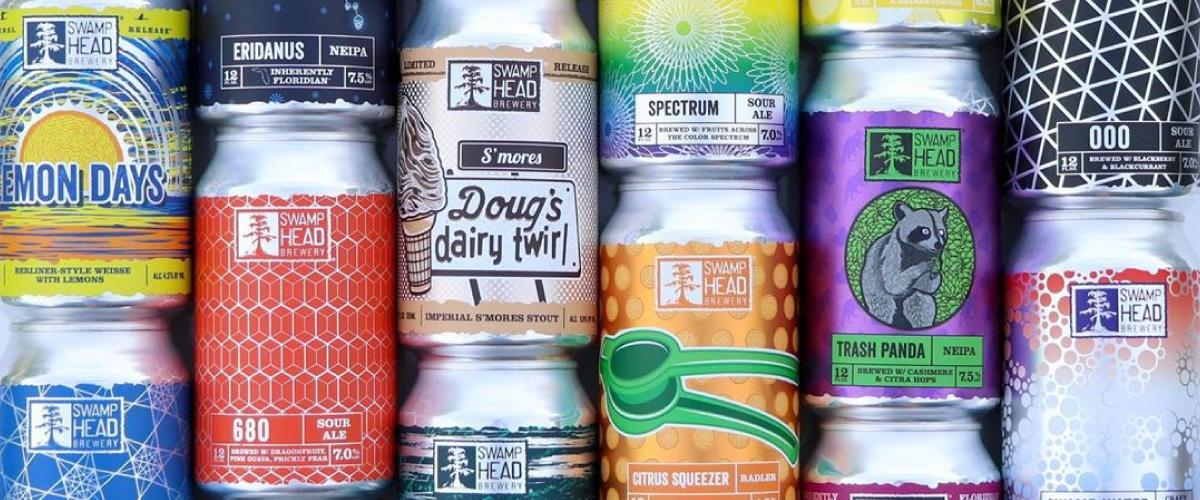 custom shaped beer labels