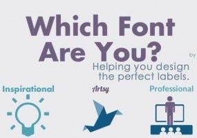 Choose a label font