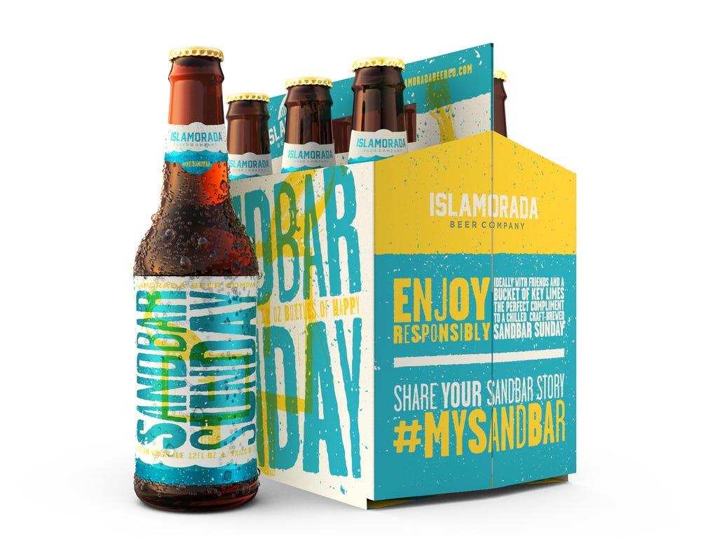 Fun Island Beer Label Design