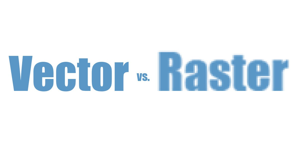 What's the difference between raster and vector