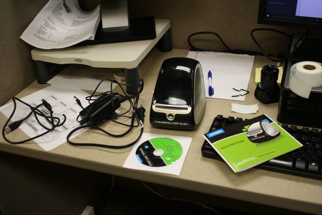 set up your dymo printer