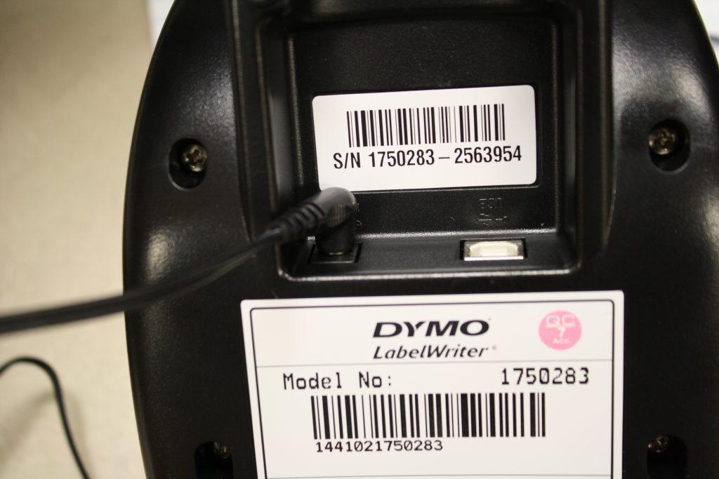 plug adapter into printer