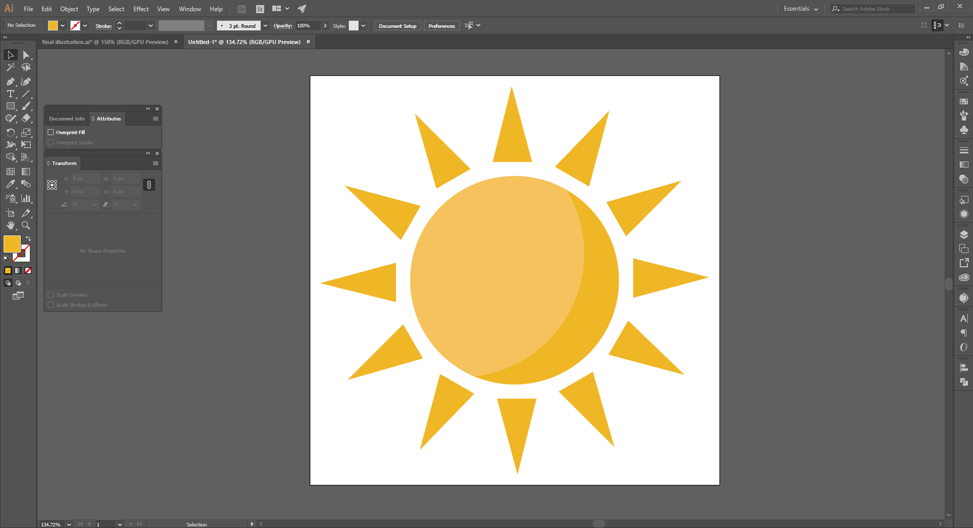 Adobe Illustrator How to Step 10