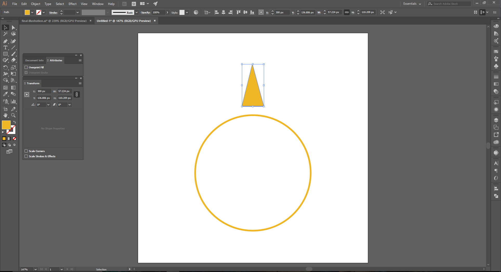 Adobe Illustrator How to Step 2.