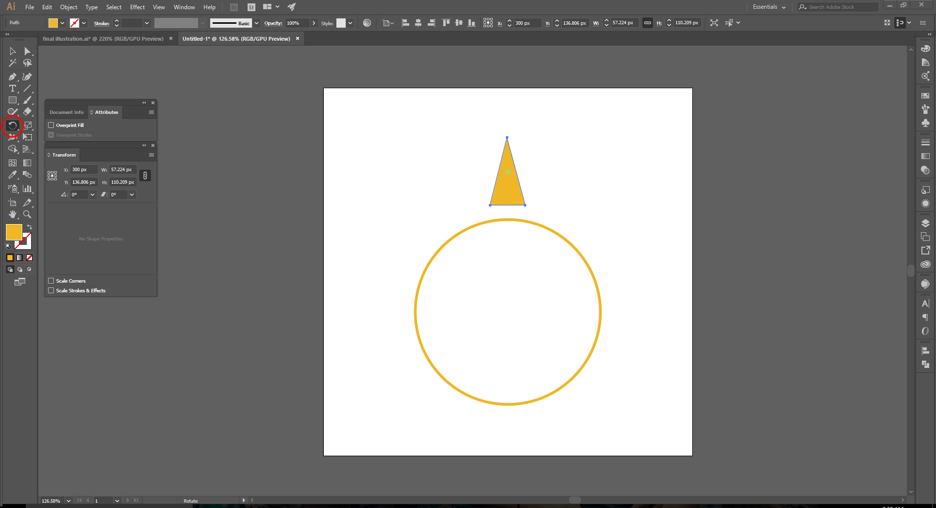 Adobe Illustrator How to Step 3