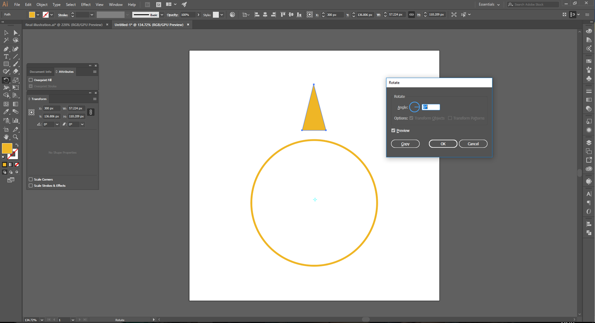 Adobe Illustrator How to Step 4 and 5
