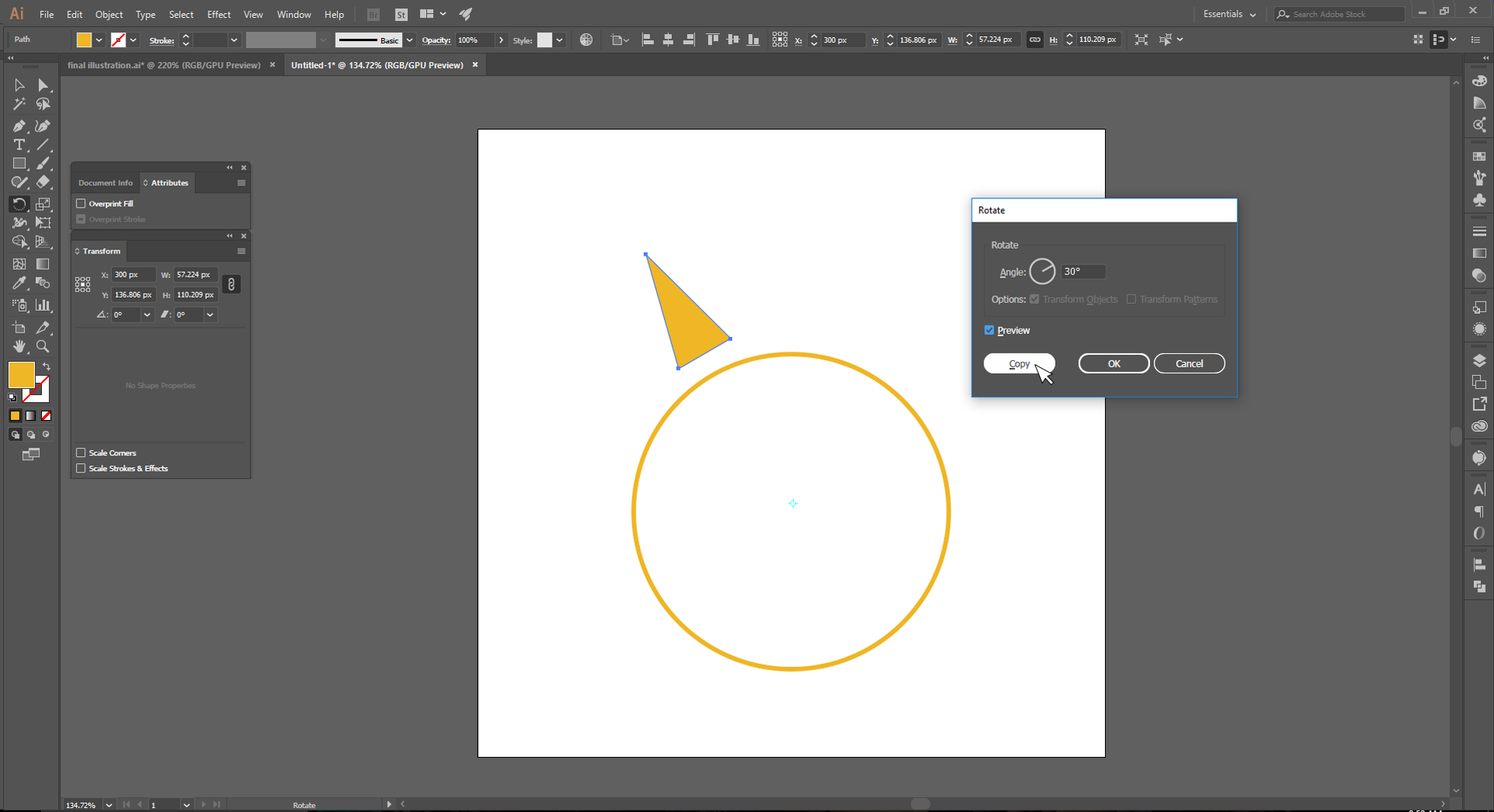 Adobe Illustrator How to Step 7