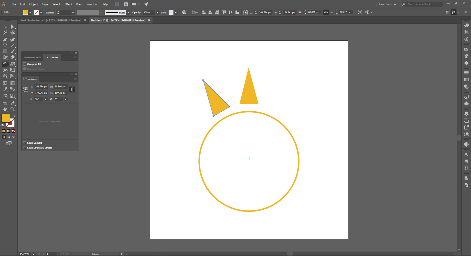 Adobe Illustrator How to Step 8