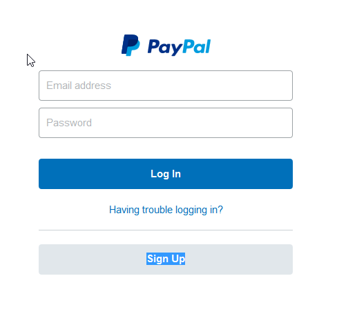 paypal account scam