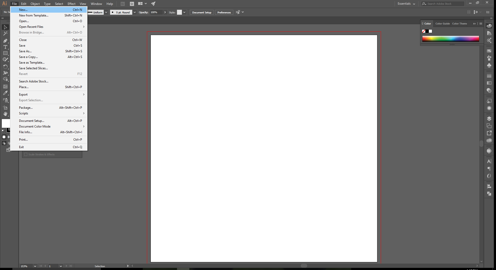 How to Set up Document Bleeds in Adobe Illustrator - 1