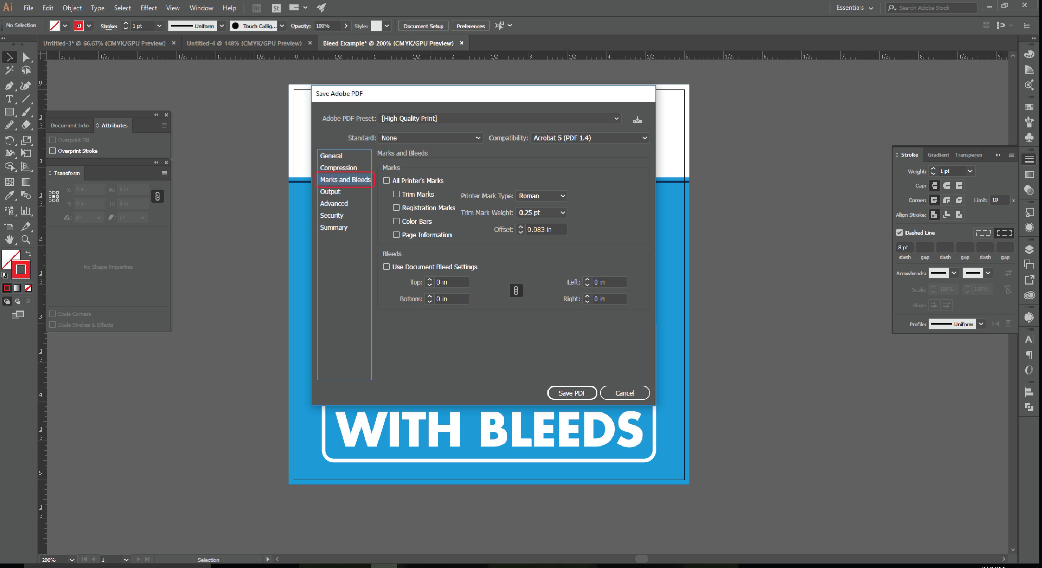 Align Tool Adobe Illustrator Step 13