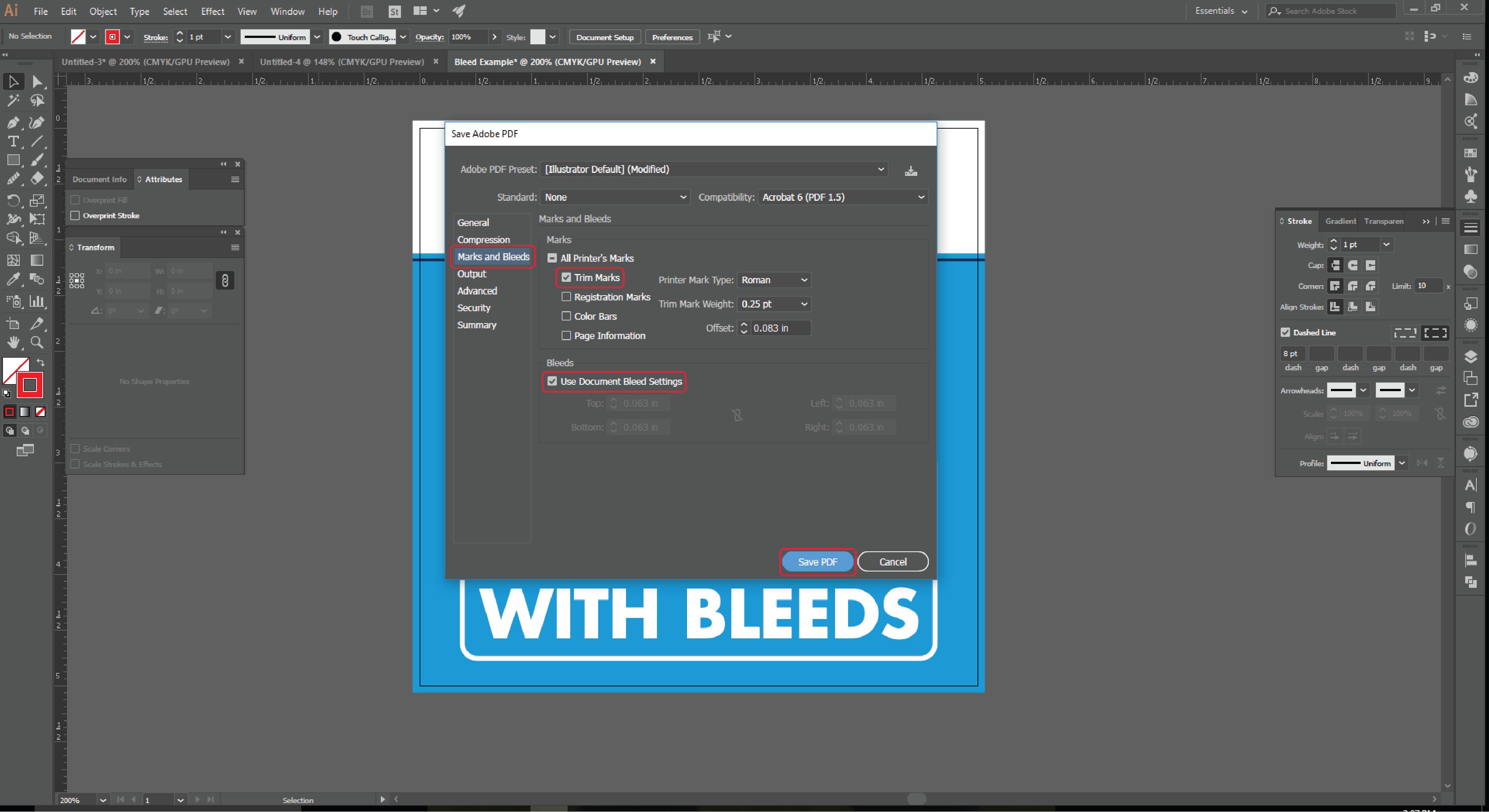 Align Tool Adobe Illustrator Step 15