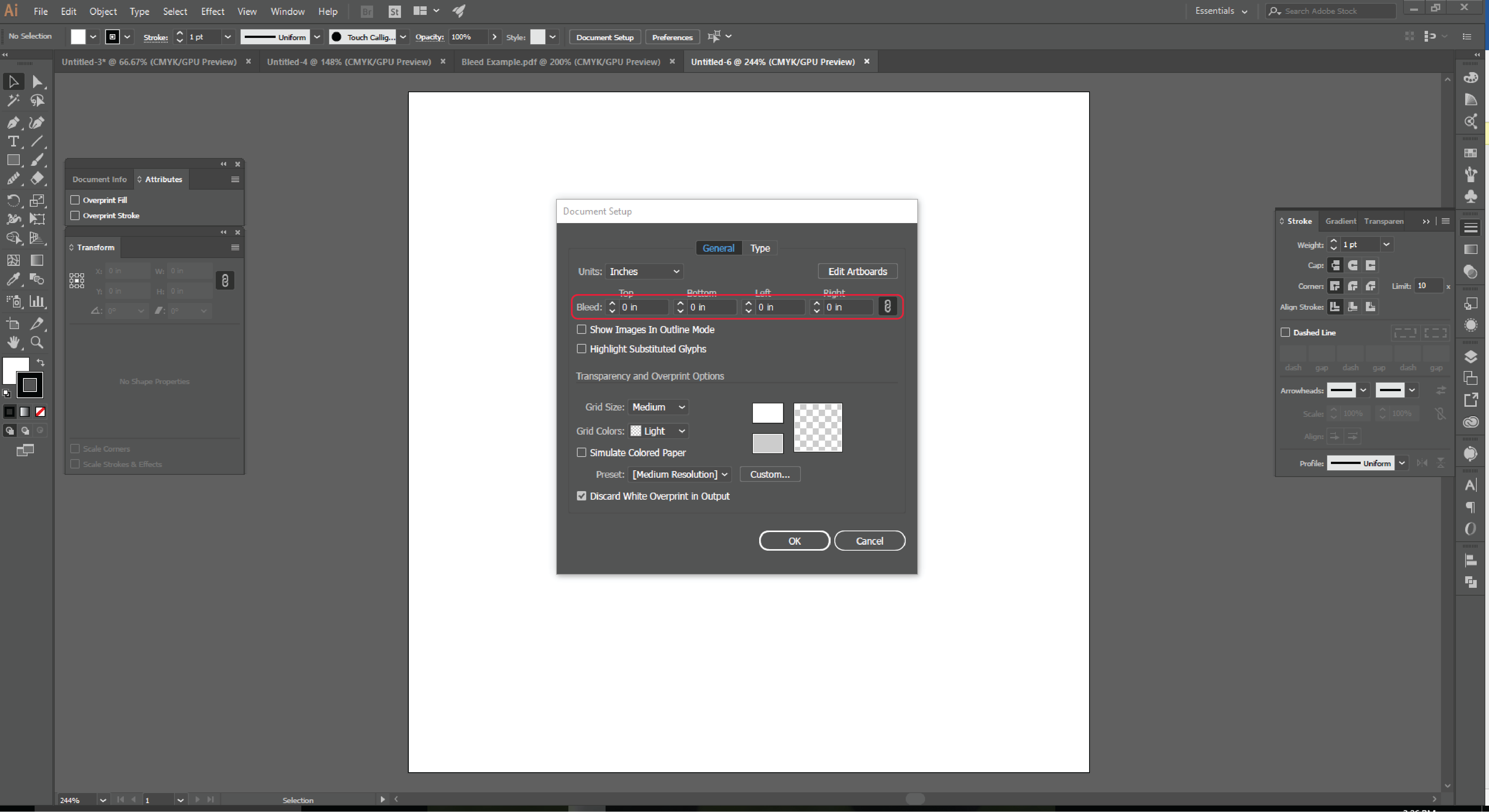 How to Add a Bleed to An Existing Document in Adobe Illustrator 2