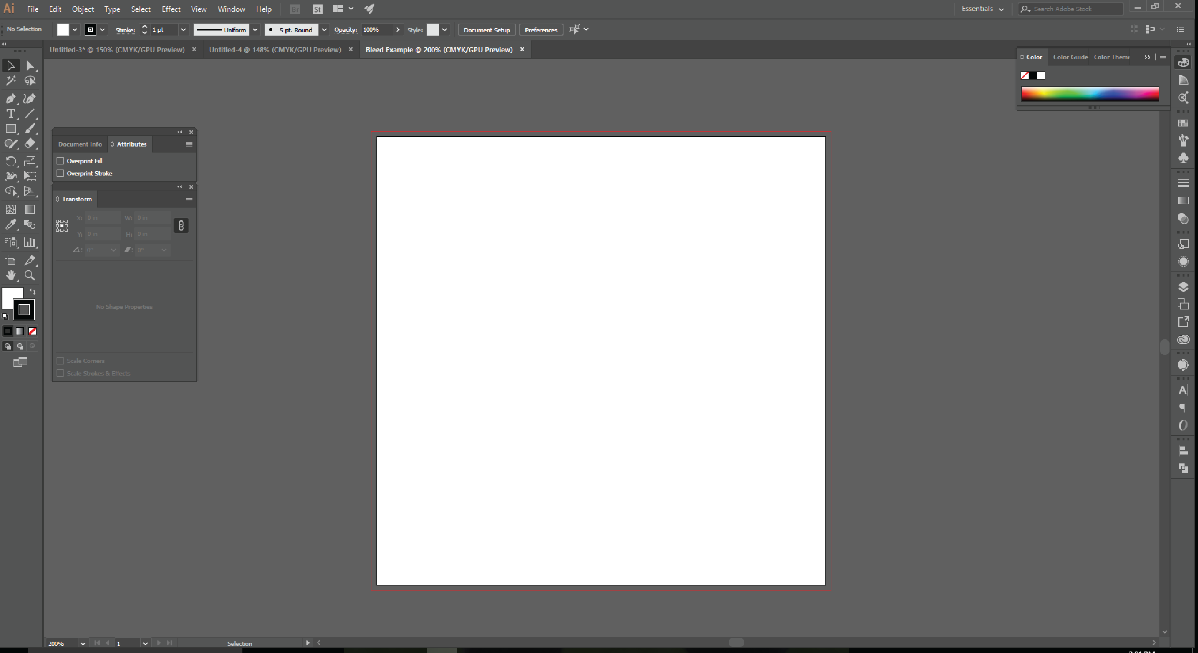 How to Set up Document Bleeds in Adobe Illustrator -7