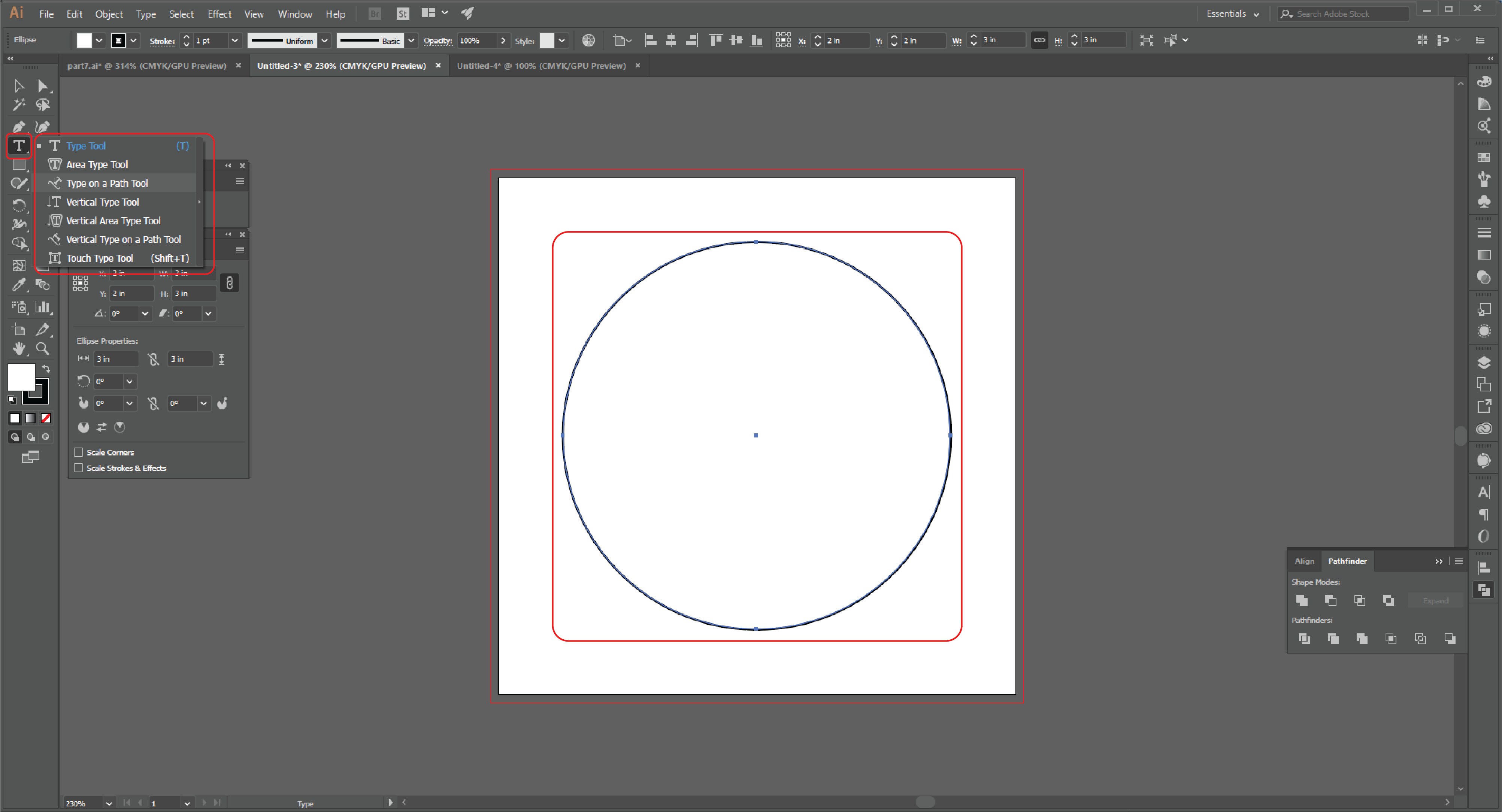 How to Type in a Circle Using the Path Tool in Adobe Illustrator  Step 10