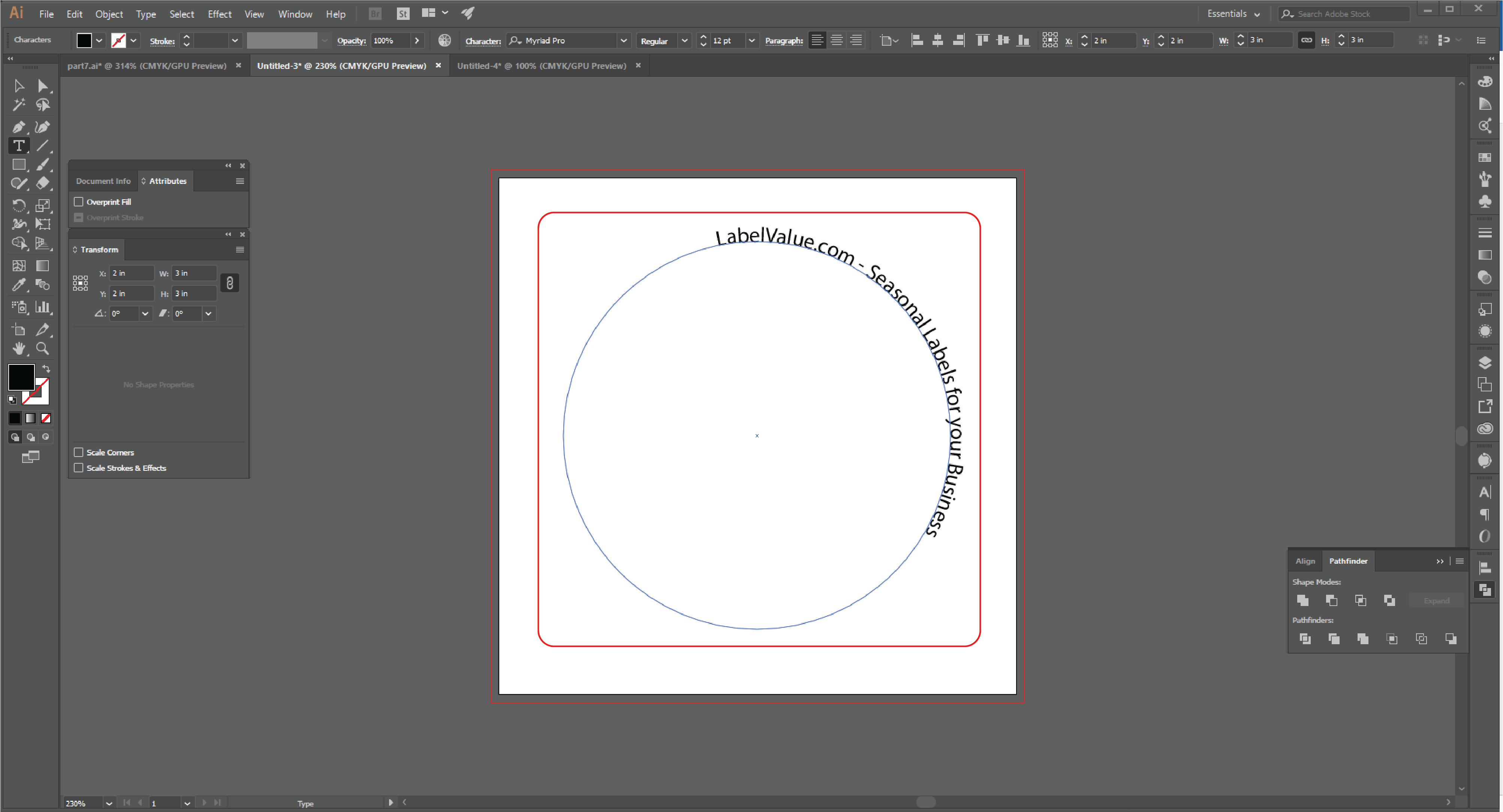 How to Type in a Circle Using the Path Tool in Adobe Illustrator  Step 13