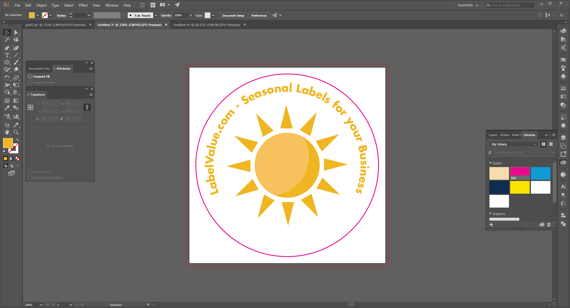 How to Type in a Circle Using the Path Tool in Adobe Illustrator  Step 18
