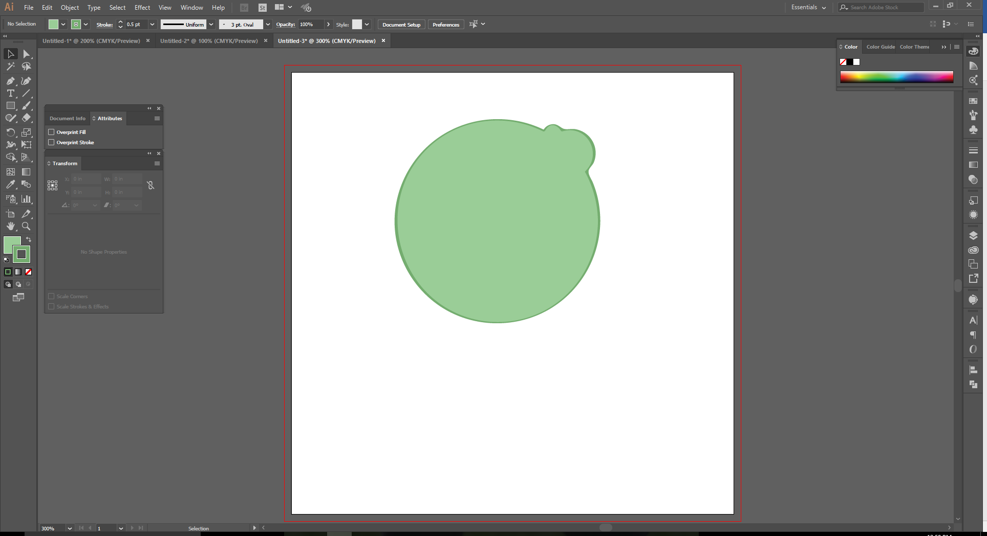 How to Use the Shape Builder Tool in Adobe Illustrator Step 10