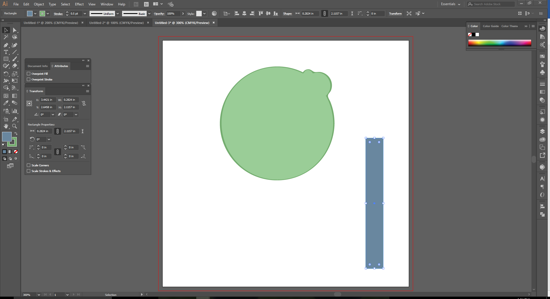 How to Use the Shape Builder Tool in Adobe Illustrator Step 11