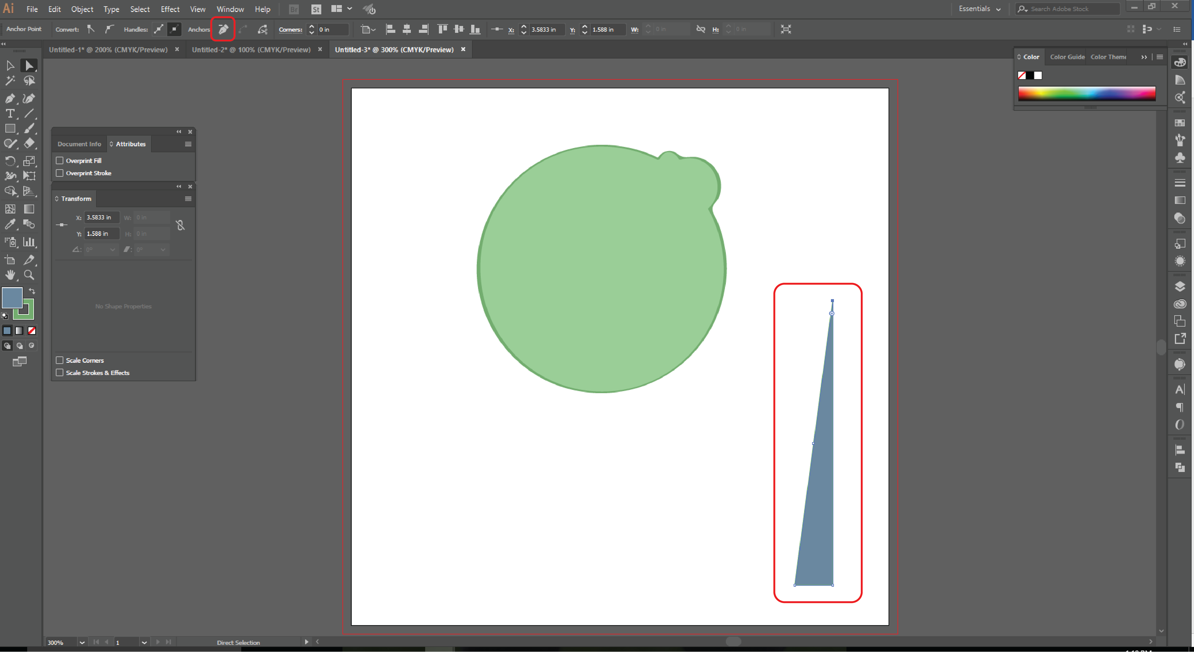 How to Use the Shape Builder Tool in Adobe Illustrator Step 13