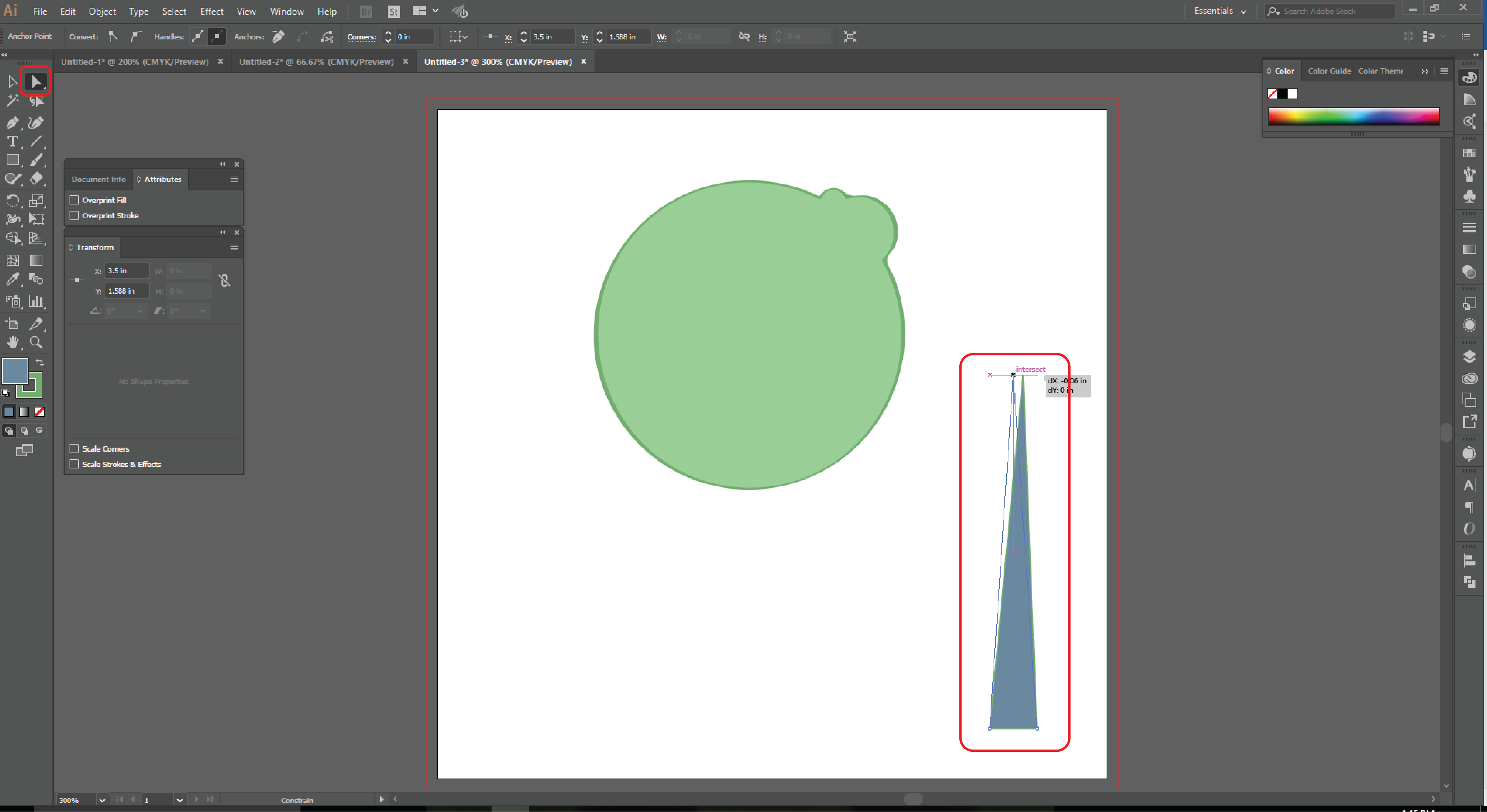 How to Use the Shape Builder Tool in Adobe Illustrator Step 14