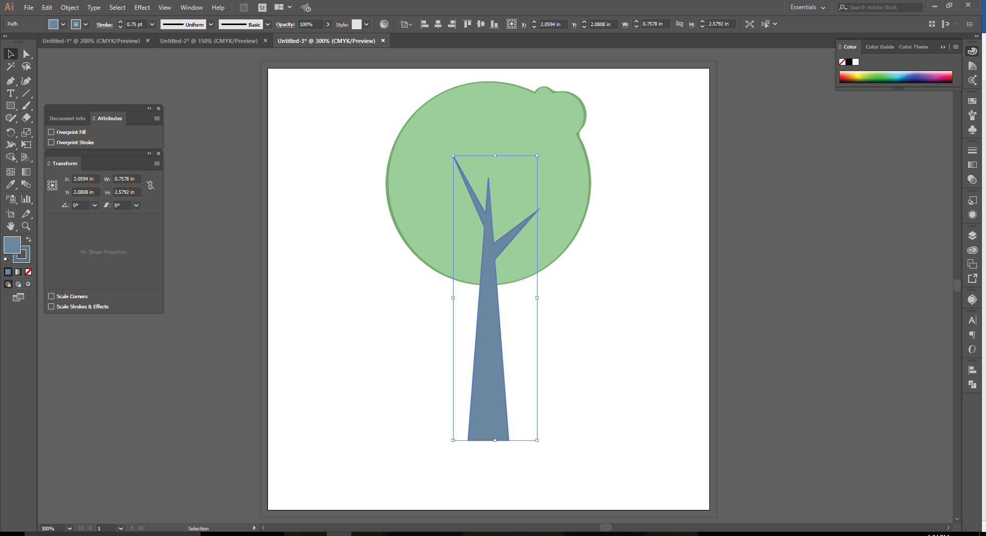 How to Use the Shape Builder Tool in Adobe Illustrator Step 15