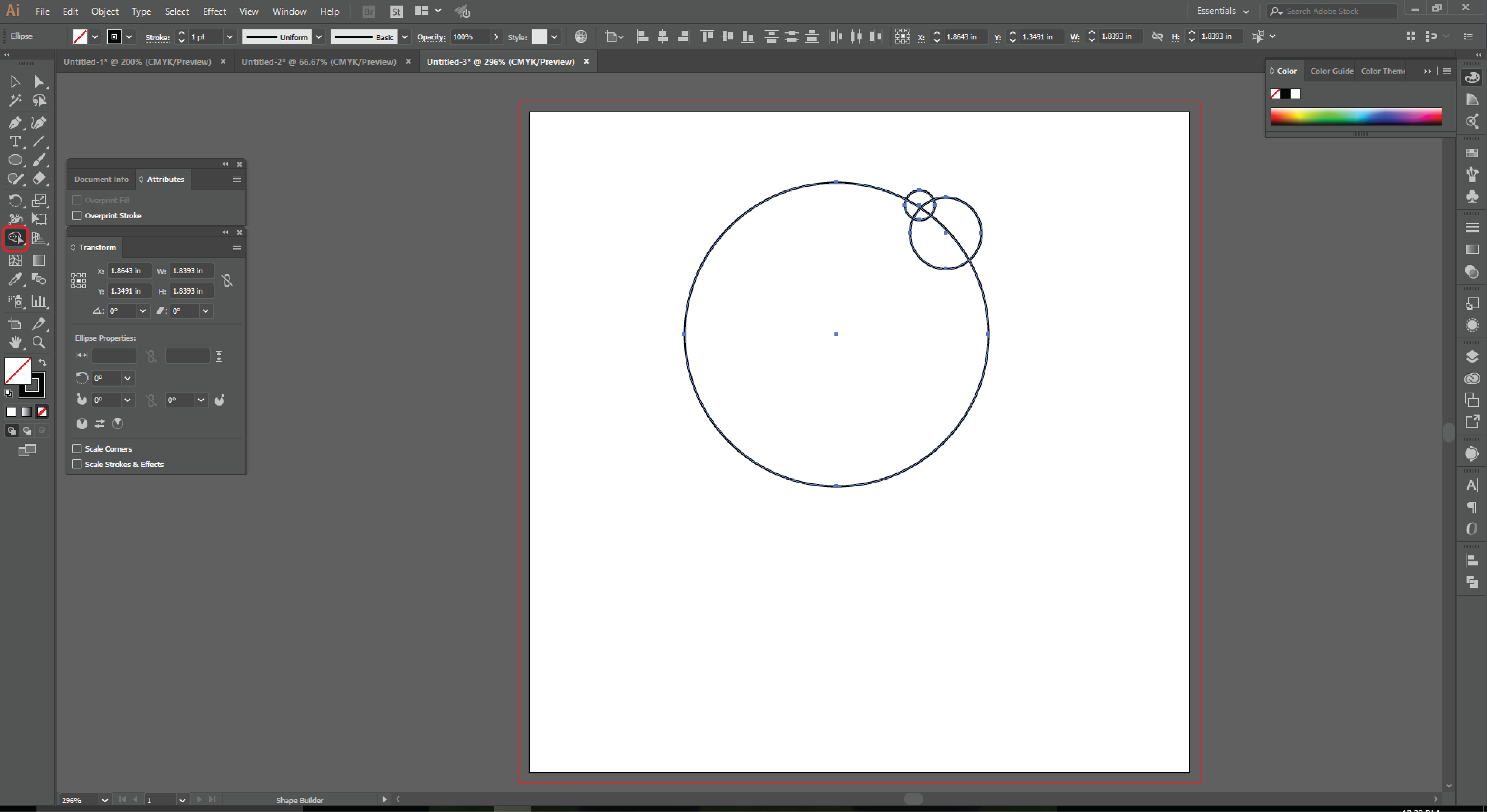 How to Use the Shape Builder Tool in Adobe Illustrator   - 4