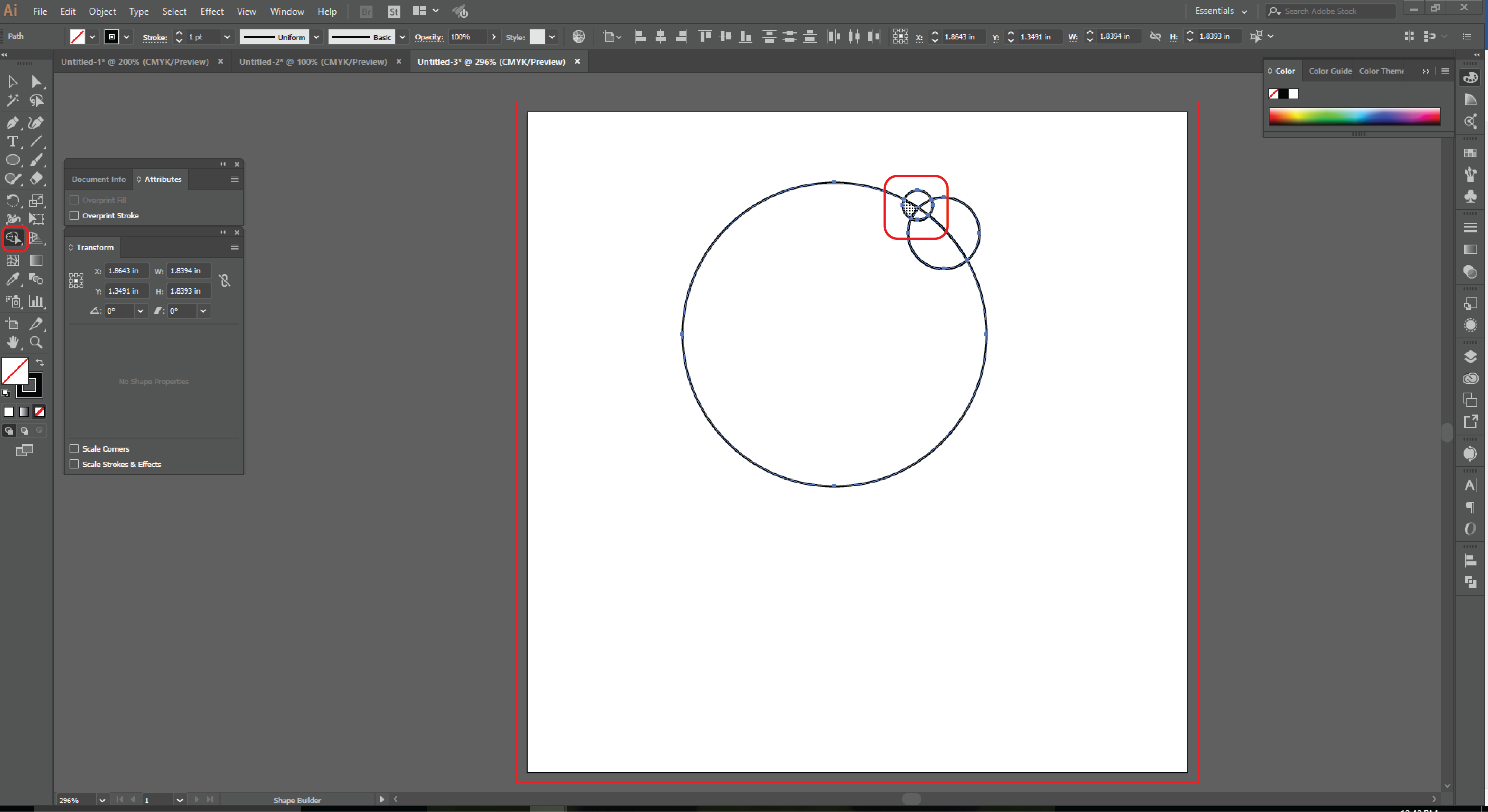 How to Use the Shape Builder Tool in Adobe Illustrator -5