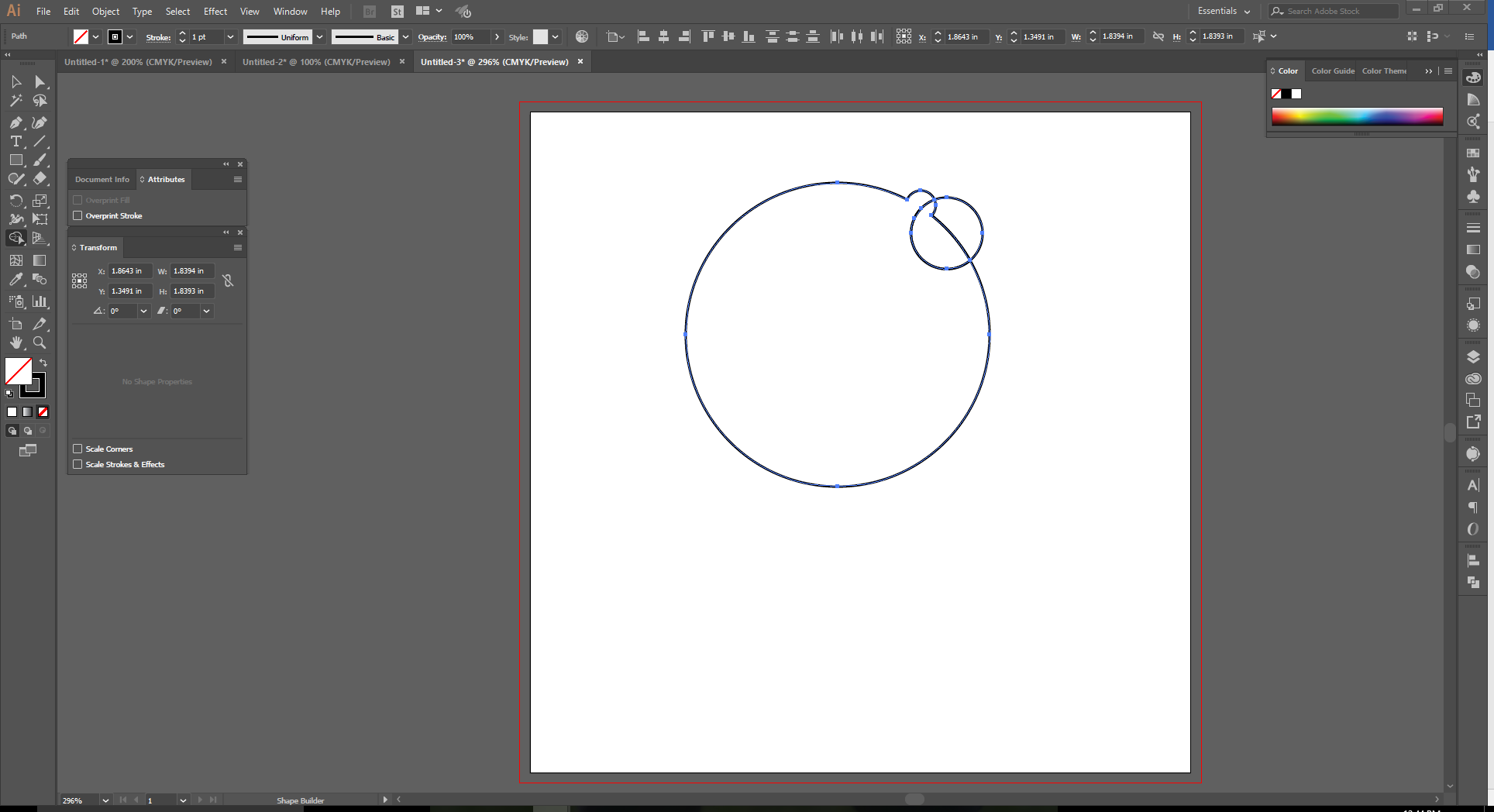 How to Use the Shape Builder Tool in Adobe Illustrator  Step 6