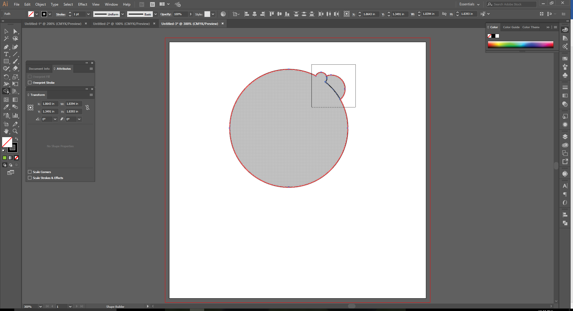 How to Use the Shape Builder Tool in Adobe Illustrator - 9