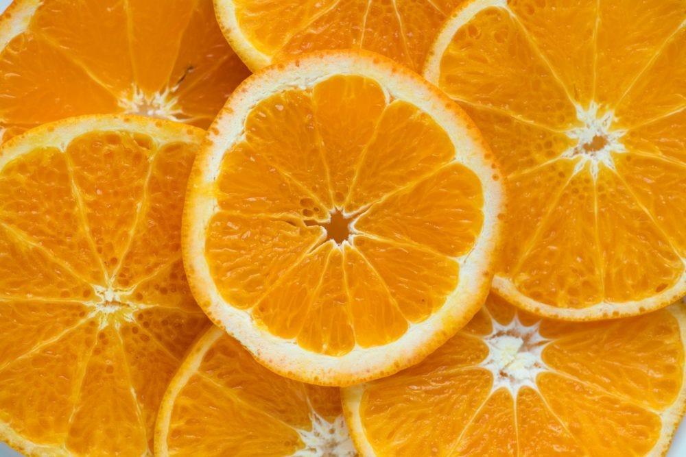 orange - bright, colorful