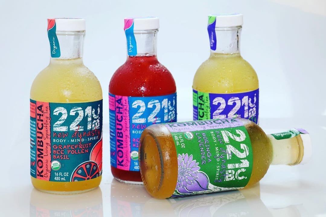 White Bopp - Custom Kombucha Beverage Labels