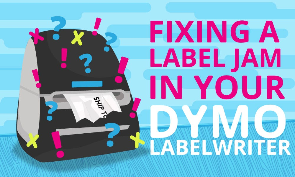 How to fix a label jam in your dymo labelwriter