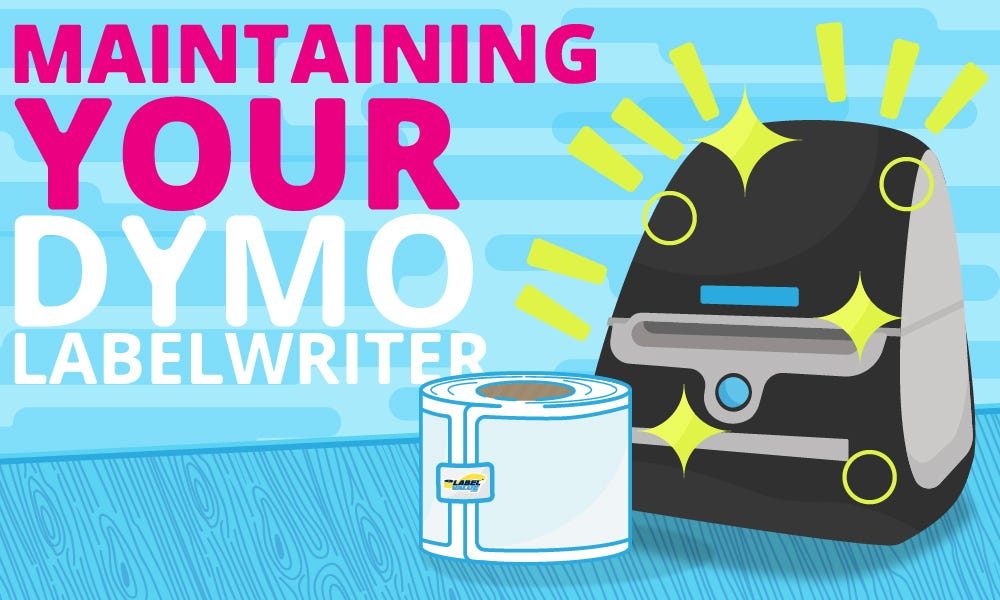Maintaining your Dymo LabelWriter