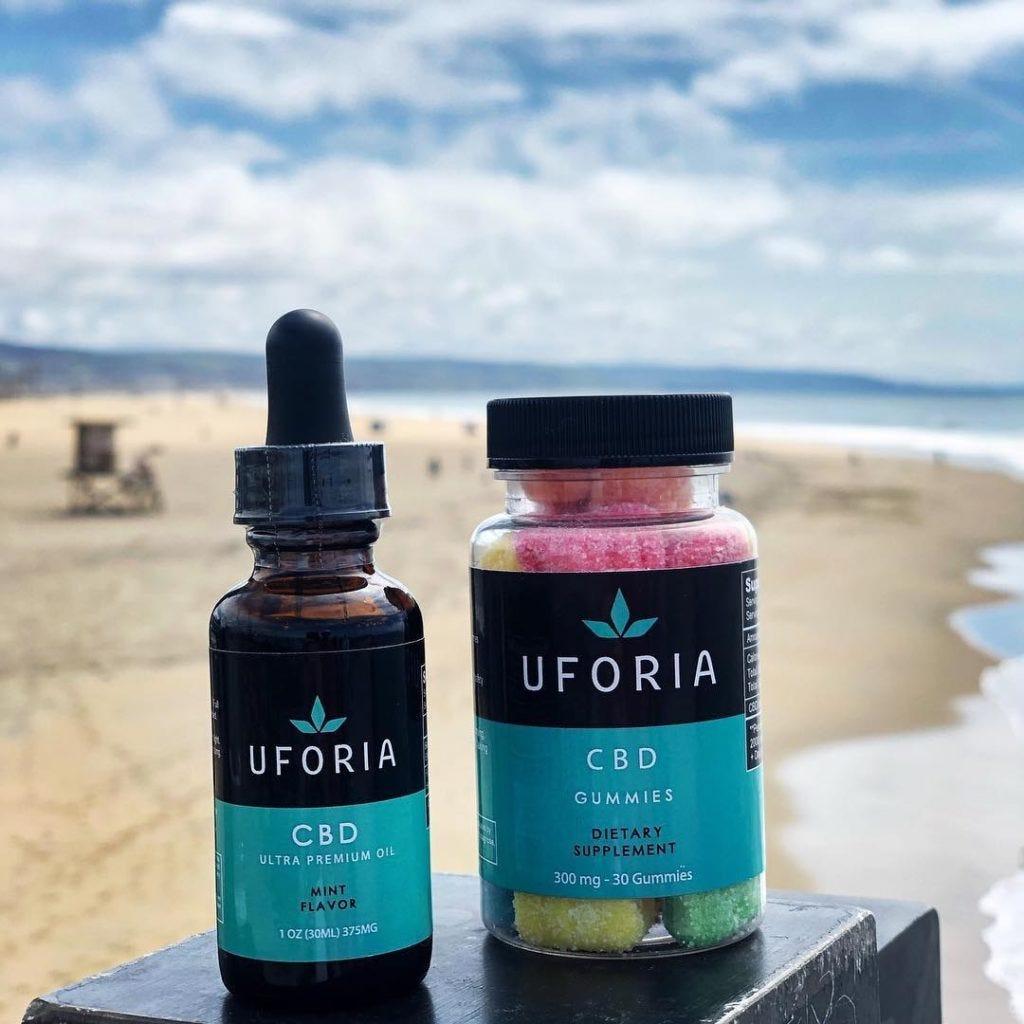 uforia cbd labels