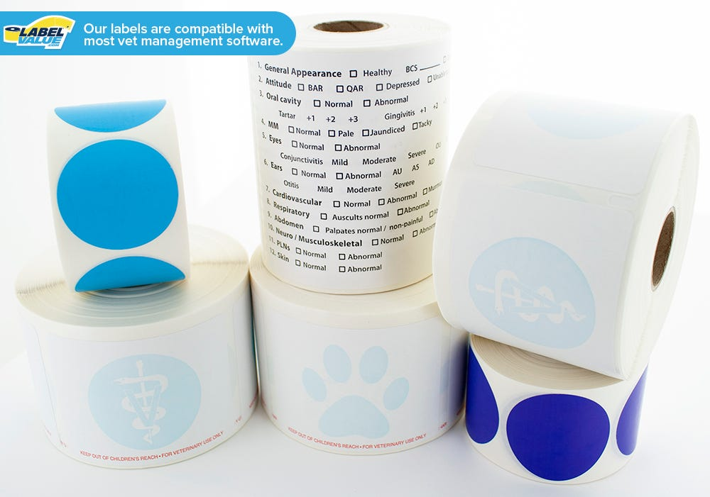 TVC Veterinary Discounts - Labels